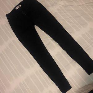 Black American apparel skinny jeans